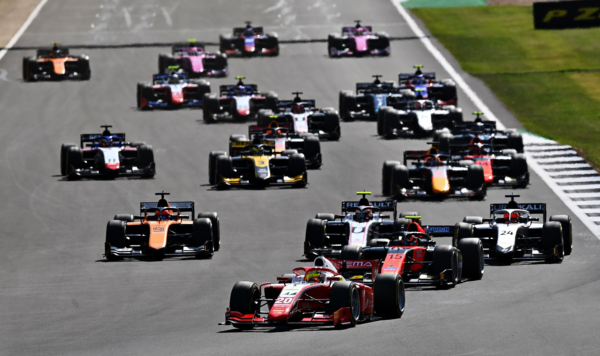 Formula 2 Championship - Round 4:Silverstone - Feature Race