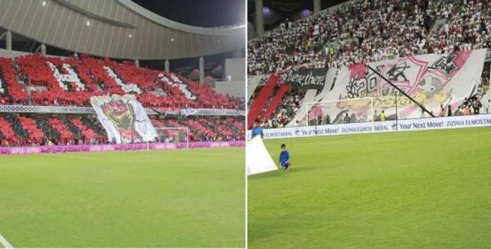 Zamalek refuses to attend 40 thousand fans in the super match against Al Ahli