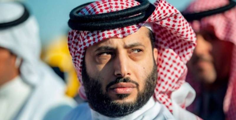 The first comment from Turki Al-Sheikh after he was exposed to health problems