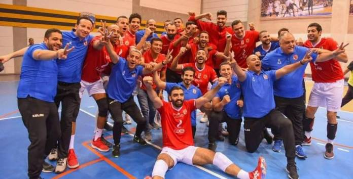 Al-Ahly honors the volleyball team after entering the Guinness Book of Records