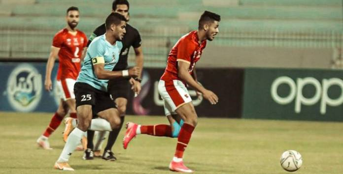 Stop the video referee in the Al-Ahly and Al-Mahalla match