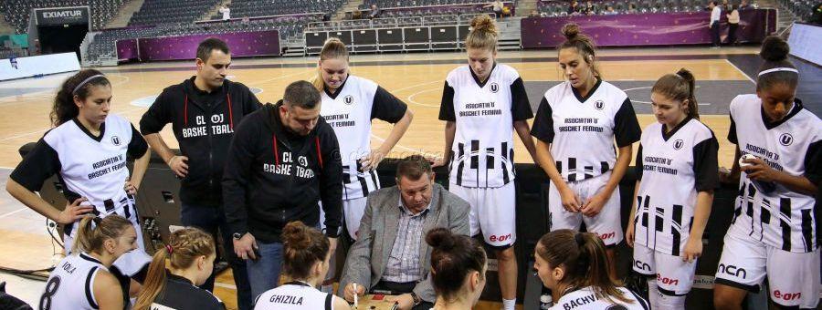 Echipa de baschet feminin a Universității Cluj joacă în deplasare la Târgu-Mureș