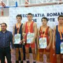 CS Universitatea Cluj, locul I pe echipe la Cupa României la Juniori la lupte libere
