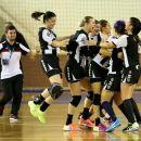 Handbal feminin: Universitatea Cluj a câștigat meciul din deplasare cu AHC Slobozia
