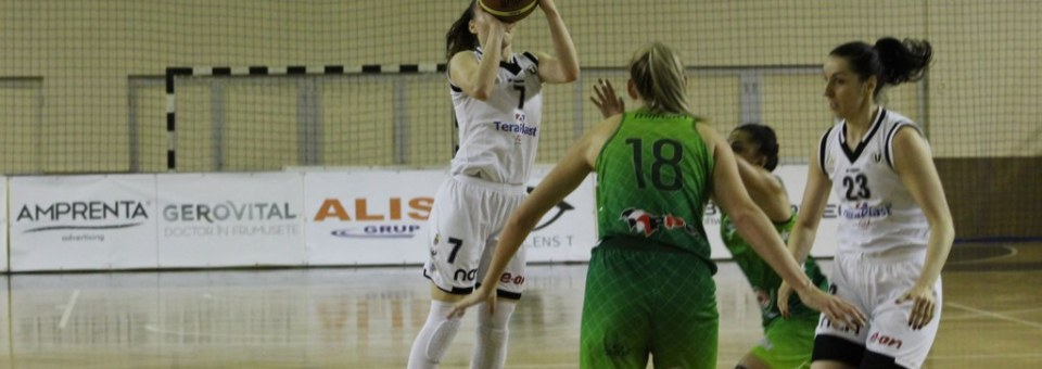 Baschet feminin: Universitatea Cluj, pe locul patru în Liga Națională