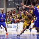 """Baschet masculin: La Cluj, """"Vulturii"""" români au fost jumuliți de starurile NBA aduse de Croația"""