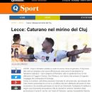 CFR Cluj vrea să transfere un atacant de la Lecce