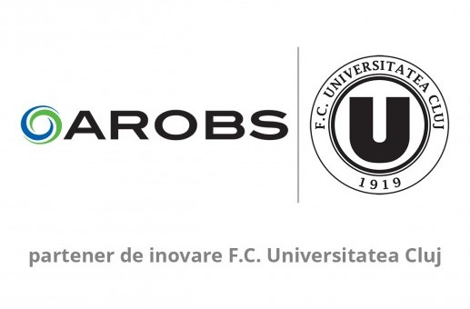 AROBS a devenit partener al FC Universitatea Cluj