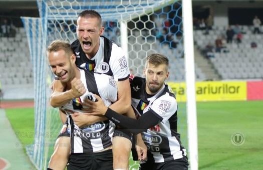 FC Universitatea Cluj a stat doar o zi pe podiumul Ligii a II-a