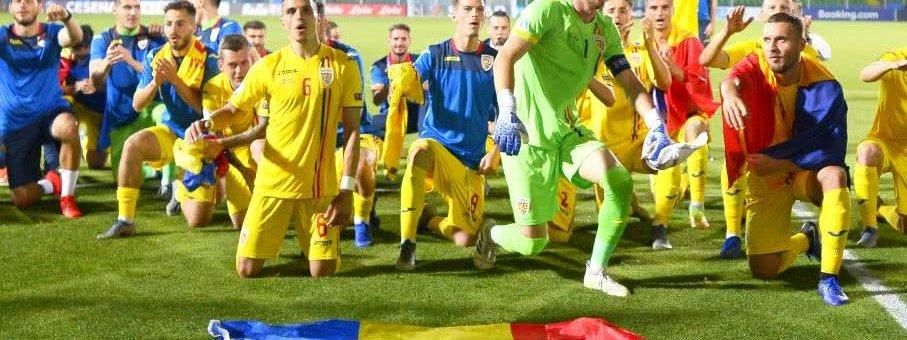 Performanță: România s-a calificat în semifinalele Campionatului European de Fotbal U21
