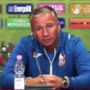 Dan Petrescu: Meciul cu Lazio va fi foarte greu, dar vom încerca să facem istorie pentru România