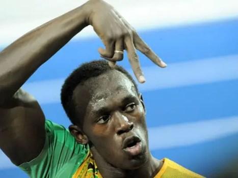 World Relays-Usain Bolt