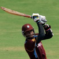 West Indies batsman Marlon Samuels made 100 off India: WICB Media Photo