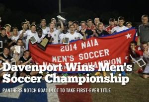 NAIA Soccer Champs