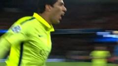 Watch Porto v Bayern Video Highlights & Suarez Nutmeg Luiz