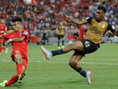 Alex Iwobi Arsenal.com