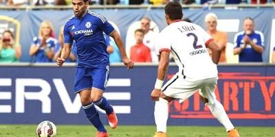 Chelsea forward Radamel Falcao