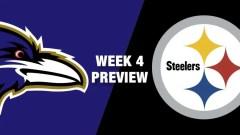 Ravens Picked To Beat Steelers In NFL Week 4