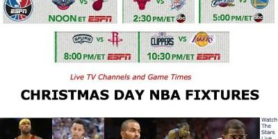 Christmas Day NBA Fixtures