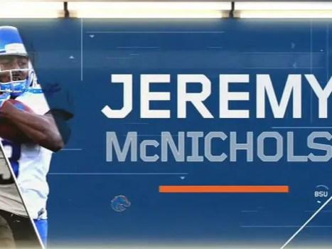 Jeremy McNichols in College Bowl