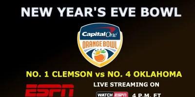 Colle Football Playoff Semifinal Orange Bowl