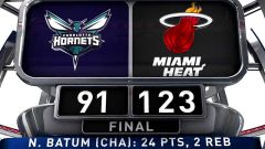 Deng Guides Dominant Heat Past Hornets: Game 1