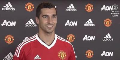 Henrikh Mkhitaryan Manchester United transfer