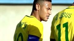 Brazil Leads USA 2-0; Firmino and Neymar Score