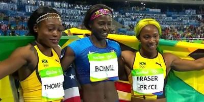 Rio 2016 Elaine Thompson