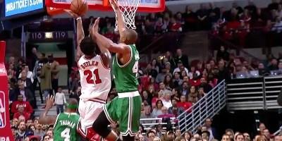 Bulter of Bulls v Celtics