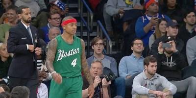 Isaiah Thomas of the Boston Celtics