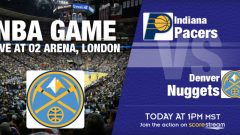 George, Pacers Take on Nuggets in London Live on NBA TV: Jan. 12
