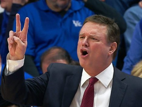 Bill Self head coach coach of the Kansas Jayhawks