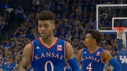 Mason, No. 1 Kansas Hold Off Oklahoma State 90-85
