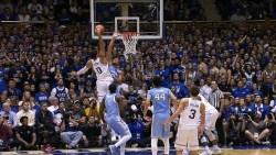 Top 25 Scores: Duke beats UNC, Gonzaga Stays Undefeated on Feb. 9
