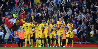 Christian Benteke beats Liverpool Premier League