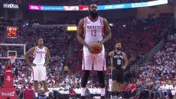 James Harden Scores 28 Points, Rockets Tie Series With Spurs 2-2