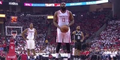 James Harden NBA Playoff