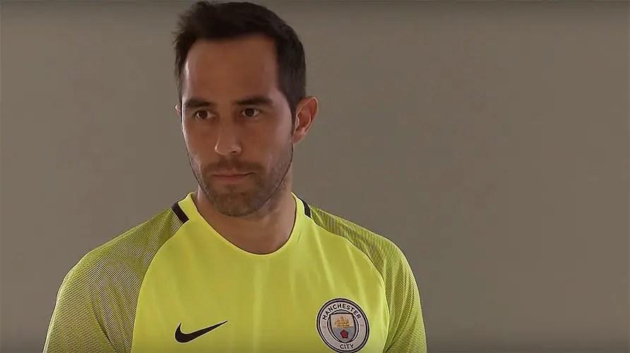 Claudio Bravo, Manchester City goalkeeper
