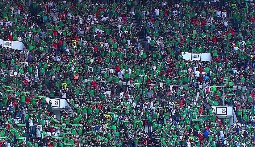 USA v Mexico Azteca Stadium