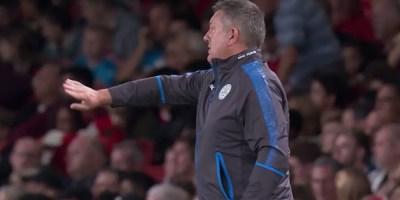Craig Shakespeare Leicester City boss v Arsenal