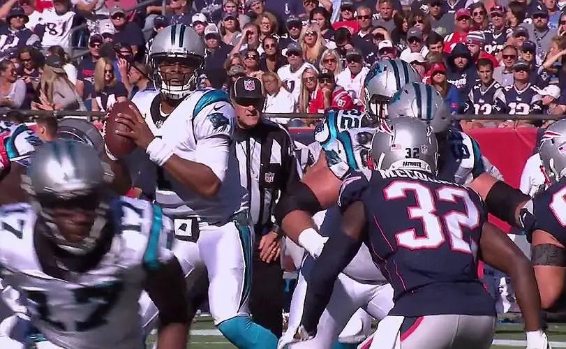 NFL wild-card games - Cam Newton for Carolina Panthers