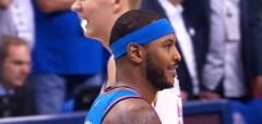 Westbrook, George, Anthony Shine; Thunder Rout Knicks 105-84