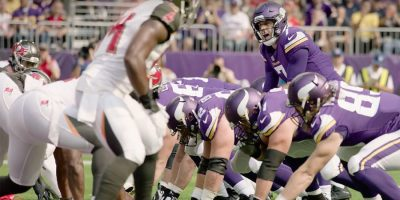 Case Keenum from the Minnesota Vikings