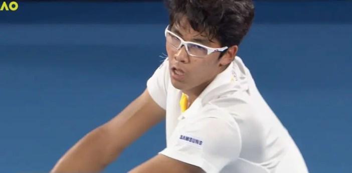 South Korean Chung Hyeon: 2018 Australian Open