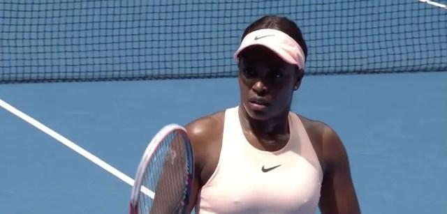 Sloane Stephens - 2018 Australia Open