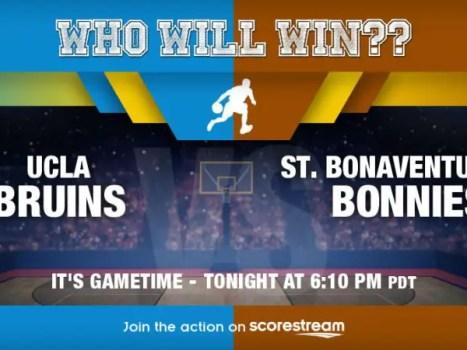 UCLA v St. Bonaventure - First Four NCAA Tournament
