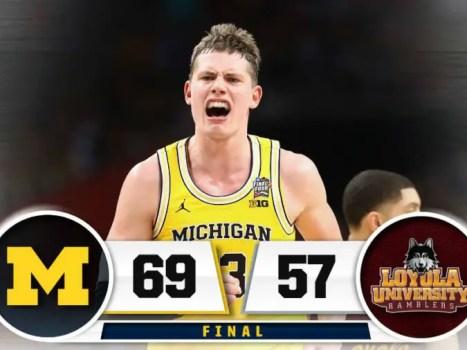 Michigan Final Four Win