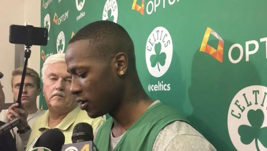 LeBron James talks up Celtics before Conference Finals