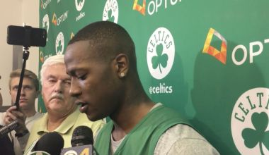 "Boston's Rozier: ""We don't want anybody on our side now"""